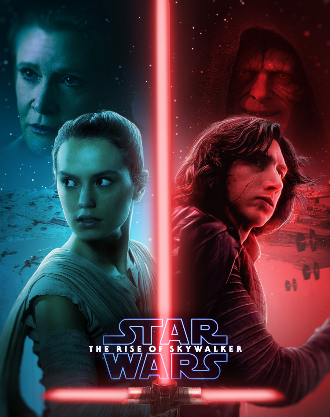 Artstation Star Wars The Rise Of Skywalker Poster Zidane Ikhwan
