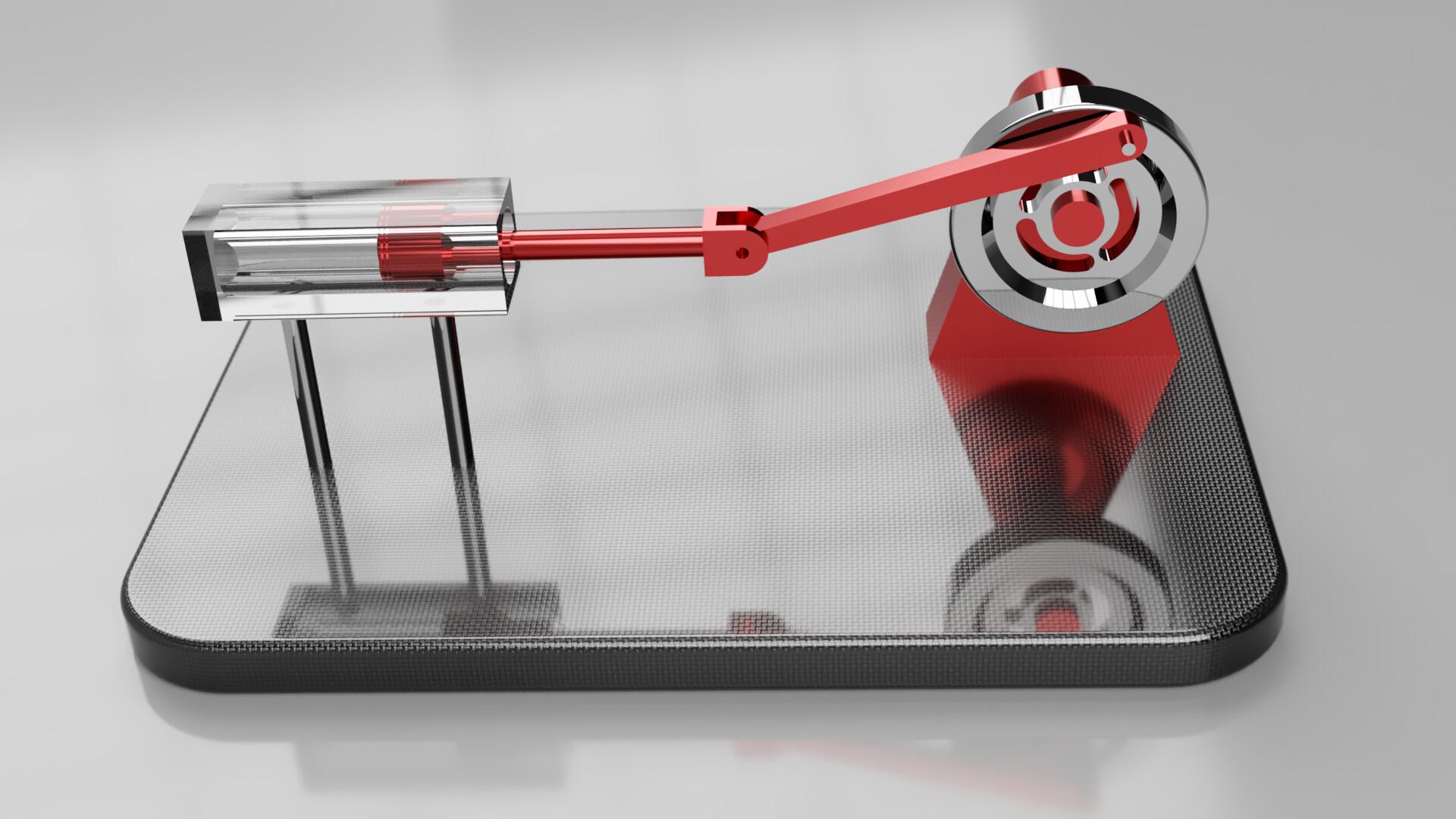 Desktop Piston Model