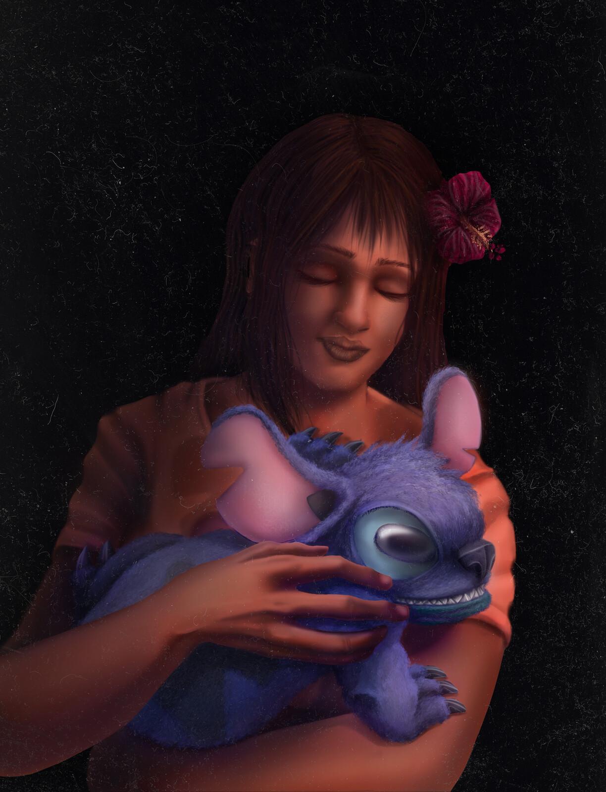 """""""Nani with a Stitch"""""""