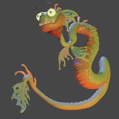 Planemo visual nicola saviori snake dragon