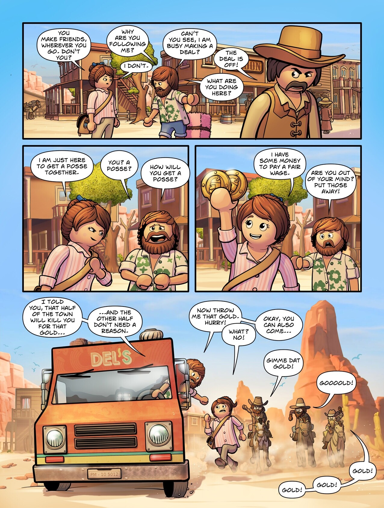 The Playmobil Movie - Comic