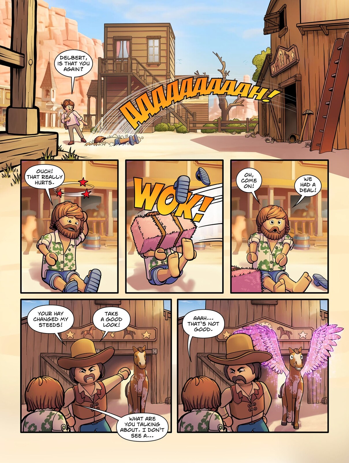 The Playmobil Movie - Comic