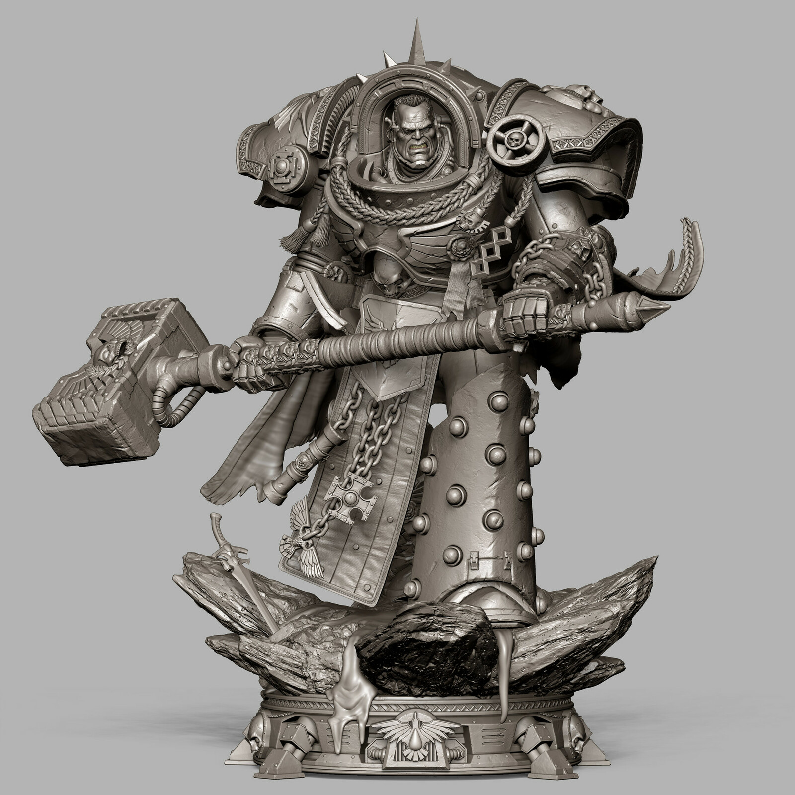 Prime1 Studio - Warhammer 40k Gabriel Angelos 1:4 Scale
