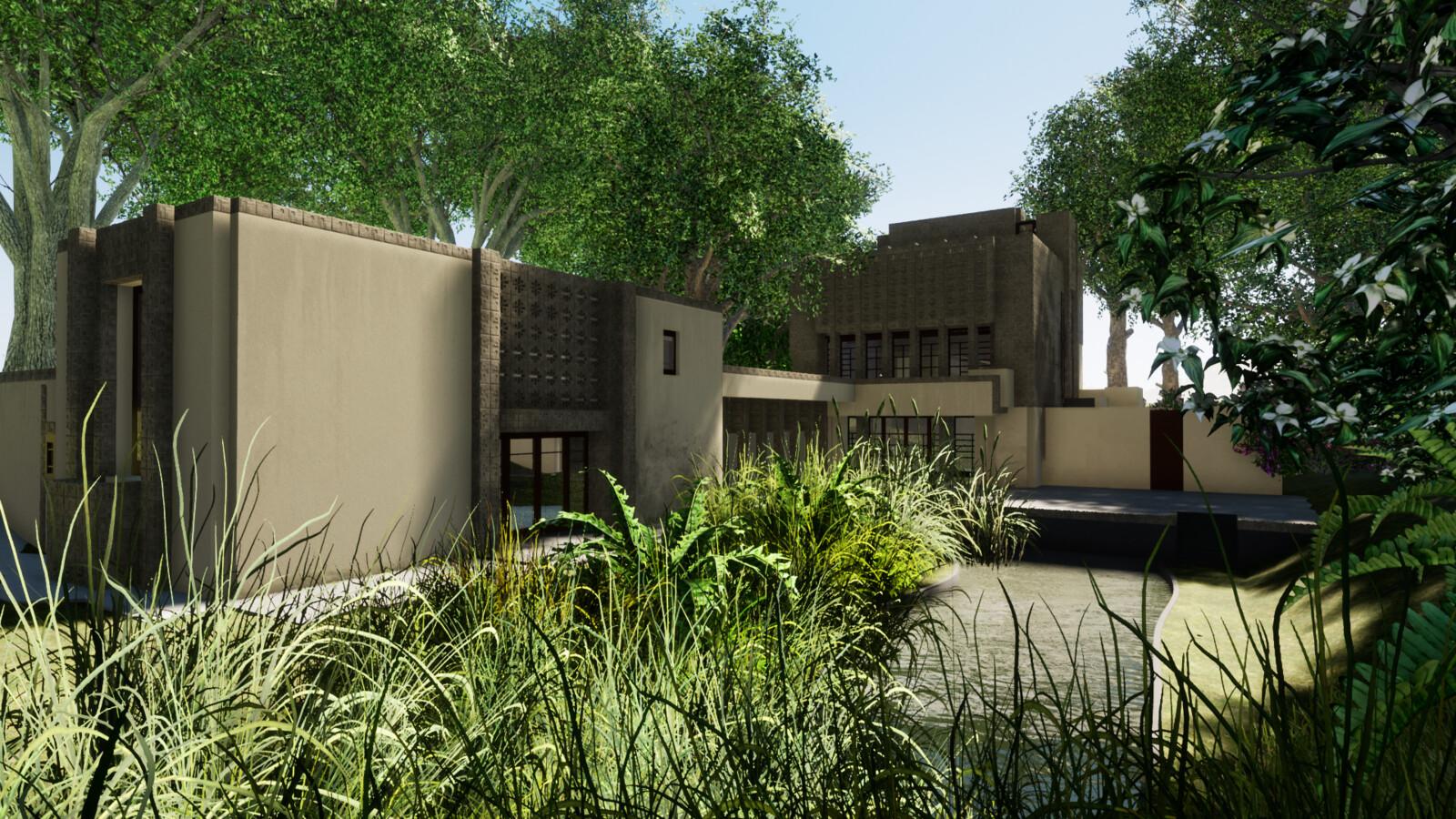 Millard House: Frank Lloyd Wright