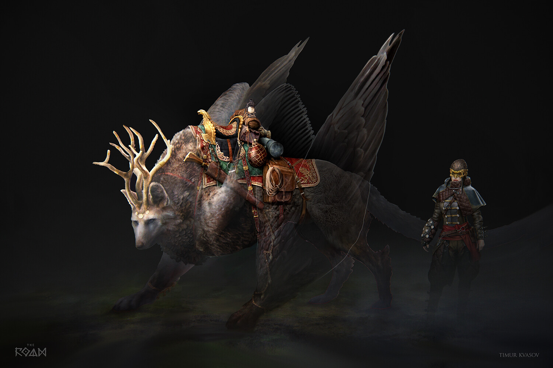Timur kvasov semargl 02 concept saddle