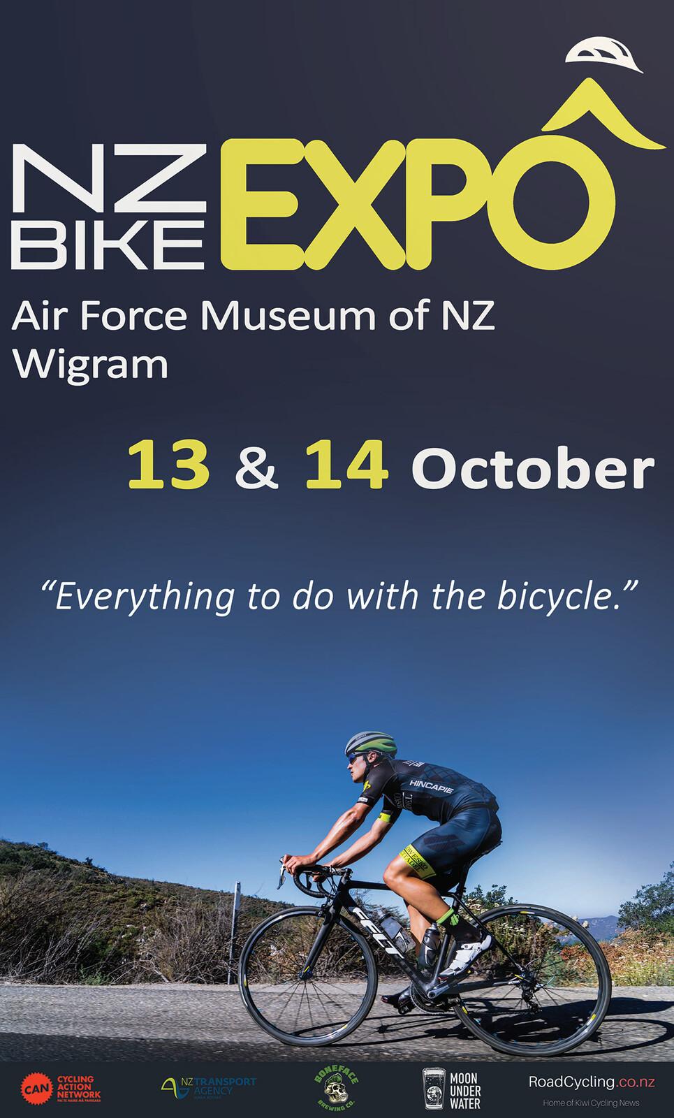 NZ Bike Expo Trailer billboard 2