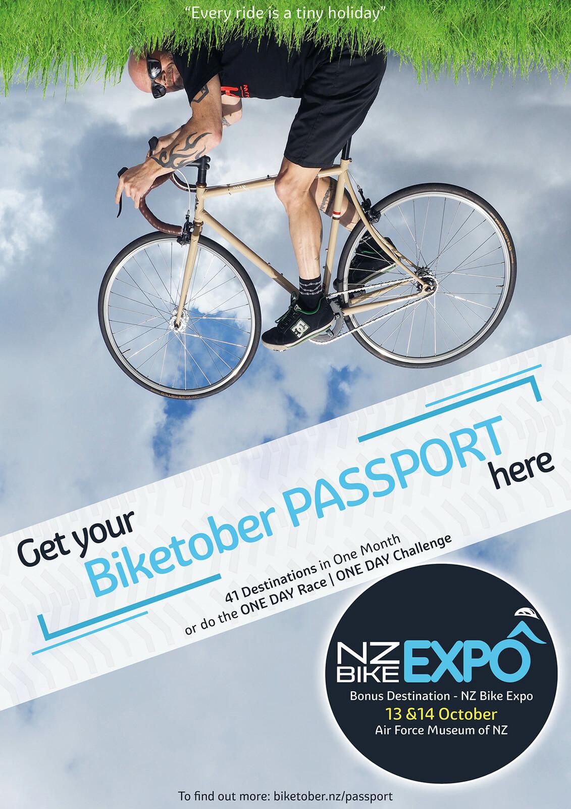 Biketober Passport Poster