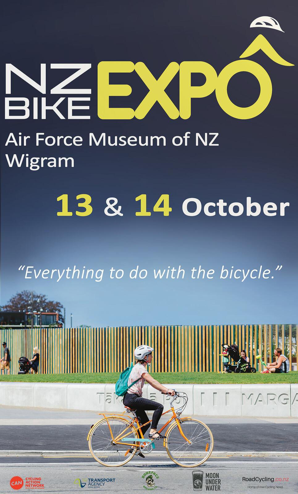 NZ Bike Expo Trailer billboard 1