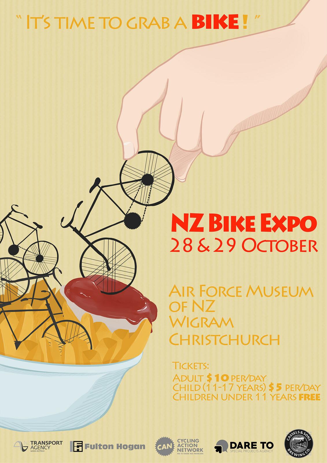 NZ Bike Expo 2017 Poster