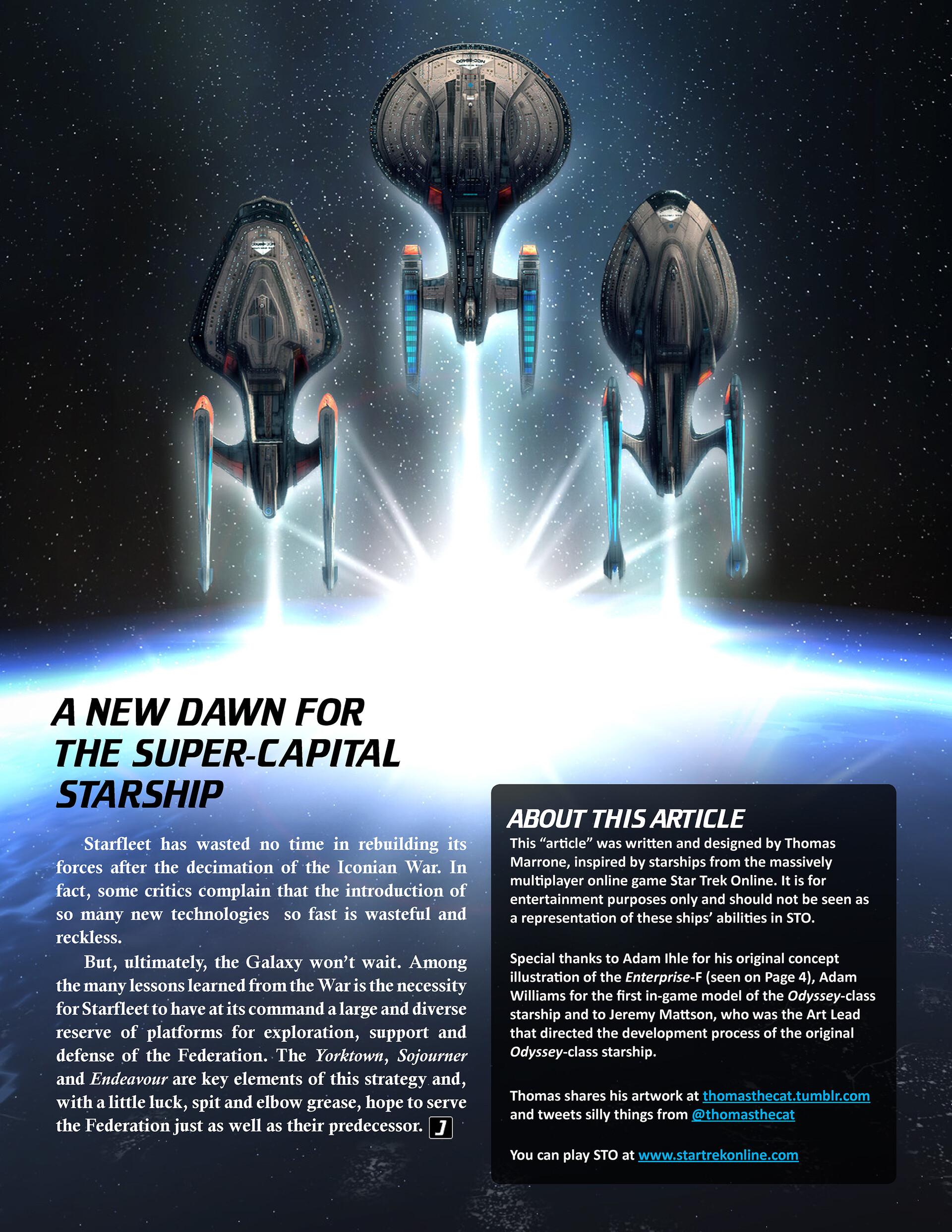 Thomas marrone jayce article starfleets new odyssey cover back