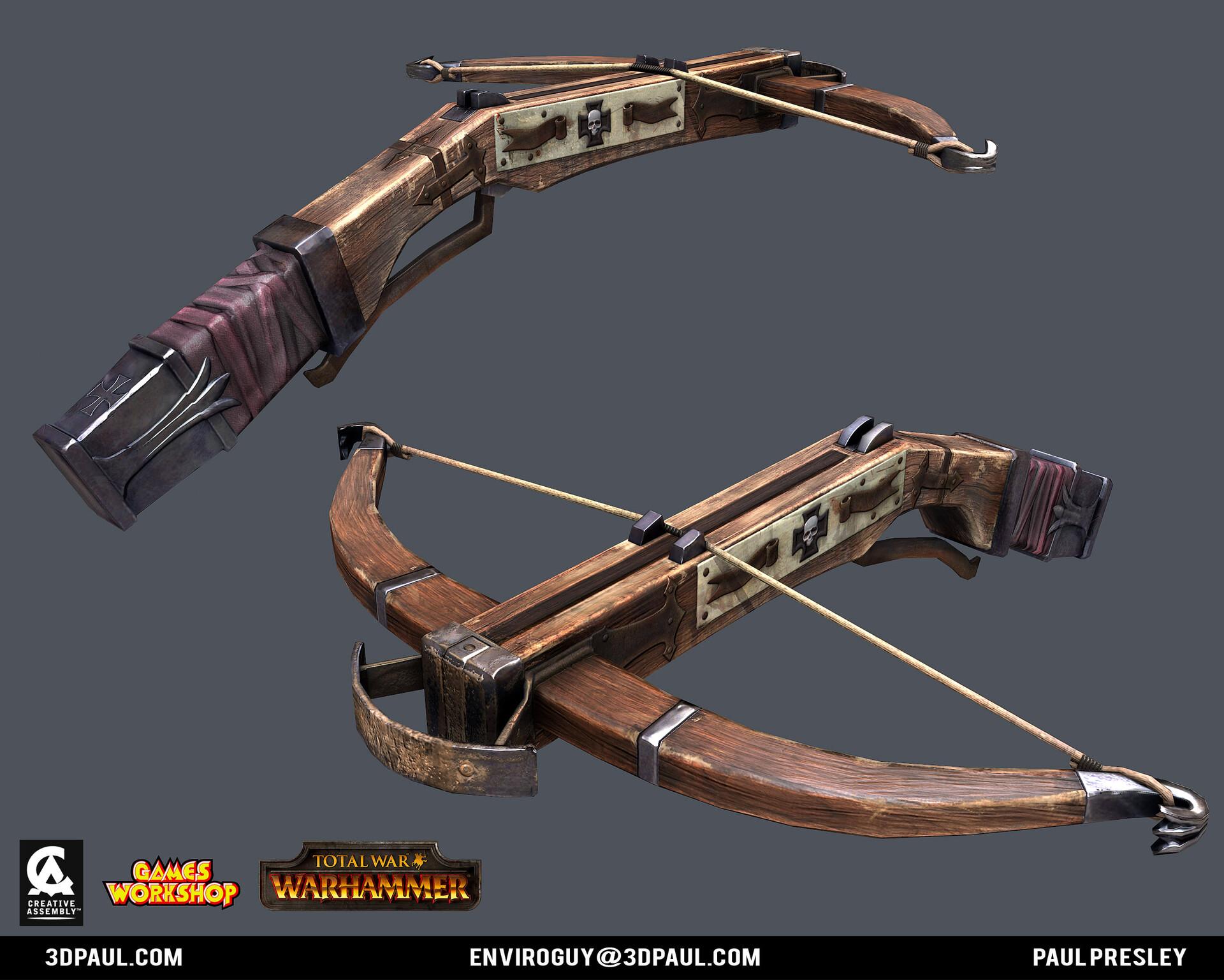 Paul presley ca empire 08 crossbow