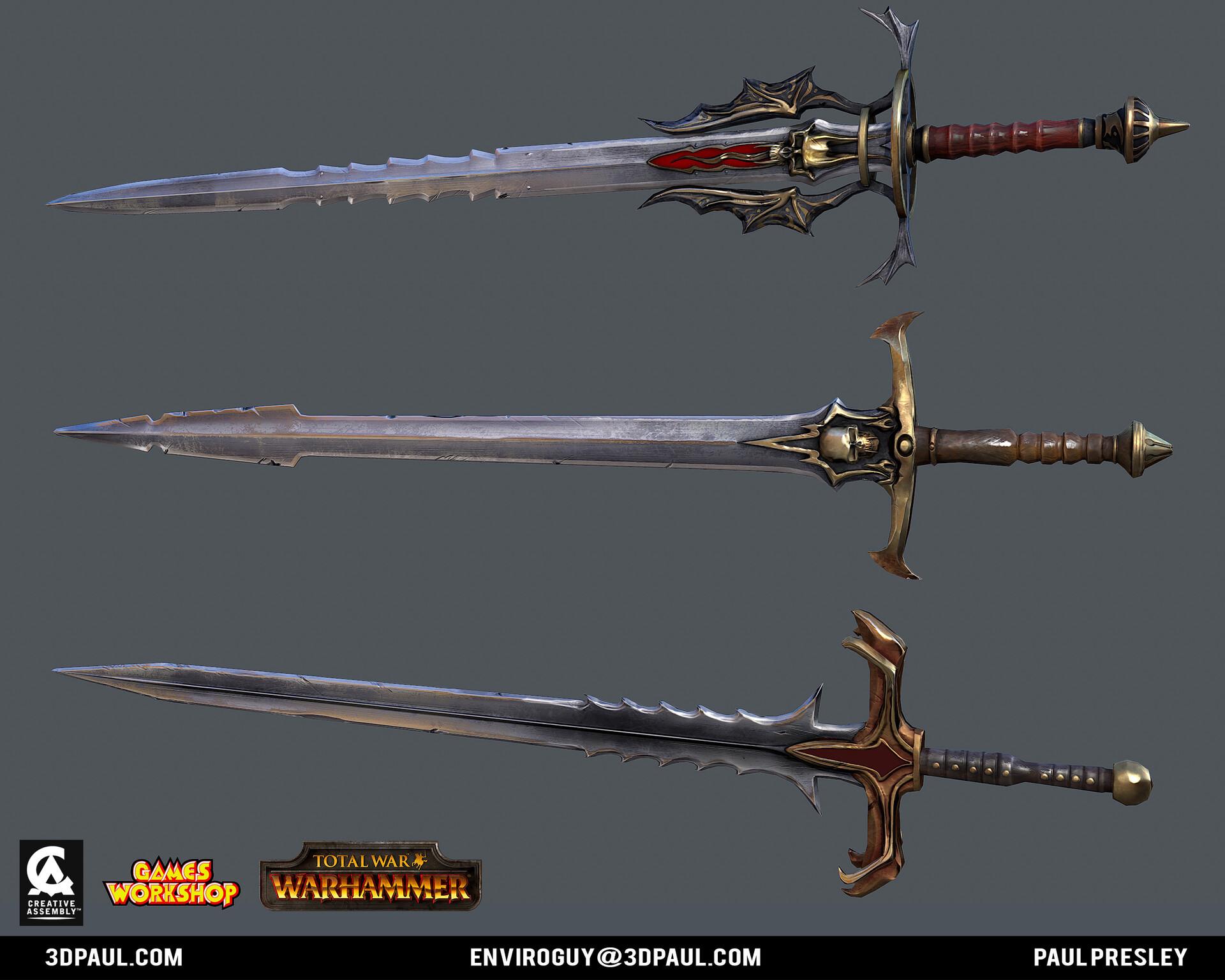 Paul presley ca vamp 02 sword