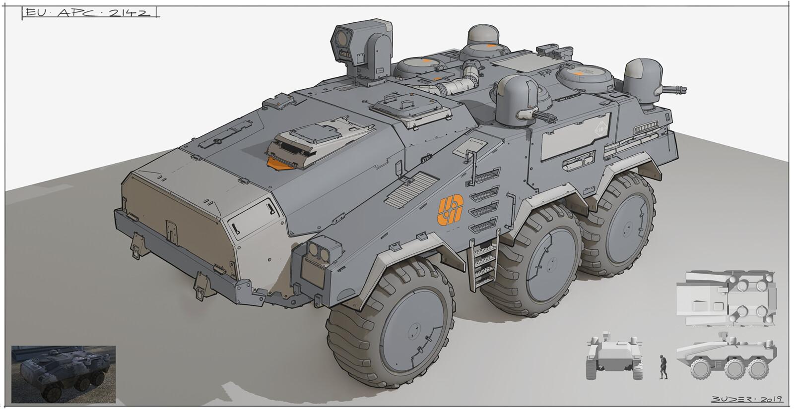 BF 2142 APC redesign