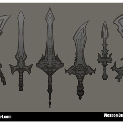 Jon wing sword designs