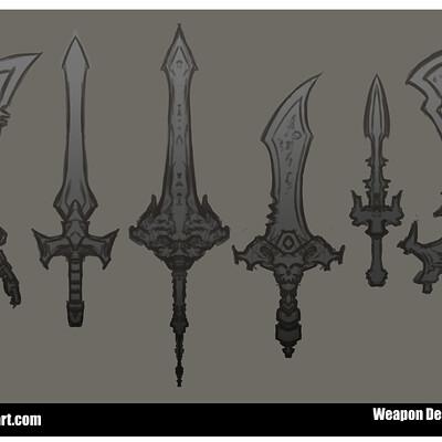 Jon wing sword designs