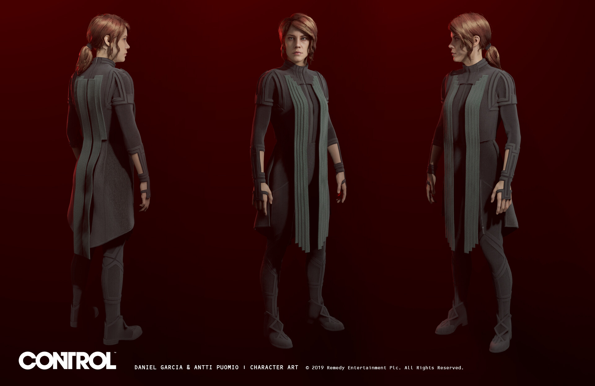 Artstation Control Guards And Costume Daniel Garcia There are hidden outfits just waiting to be found in control, and if you're aiming to find everything in this extremely mysterious, supremely weird game, this is a good place to start. control guards and costume daniel garcia