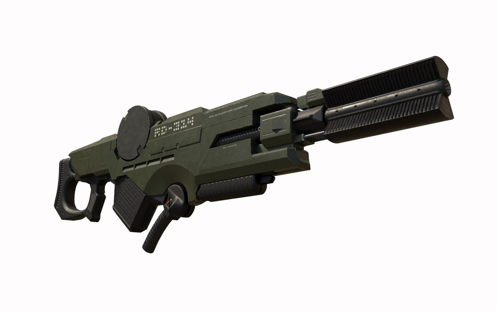 Sci-Fi Heavy Rifle