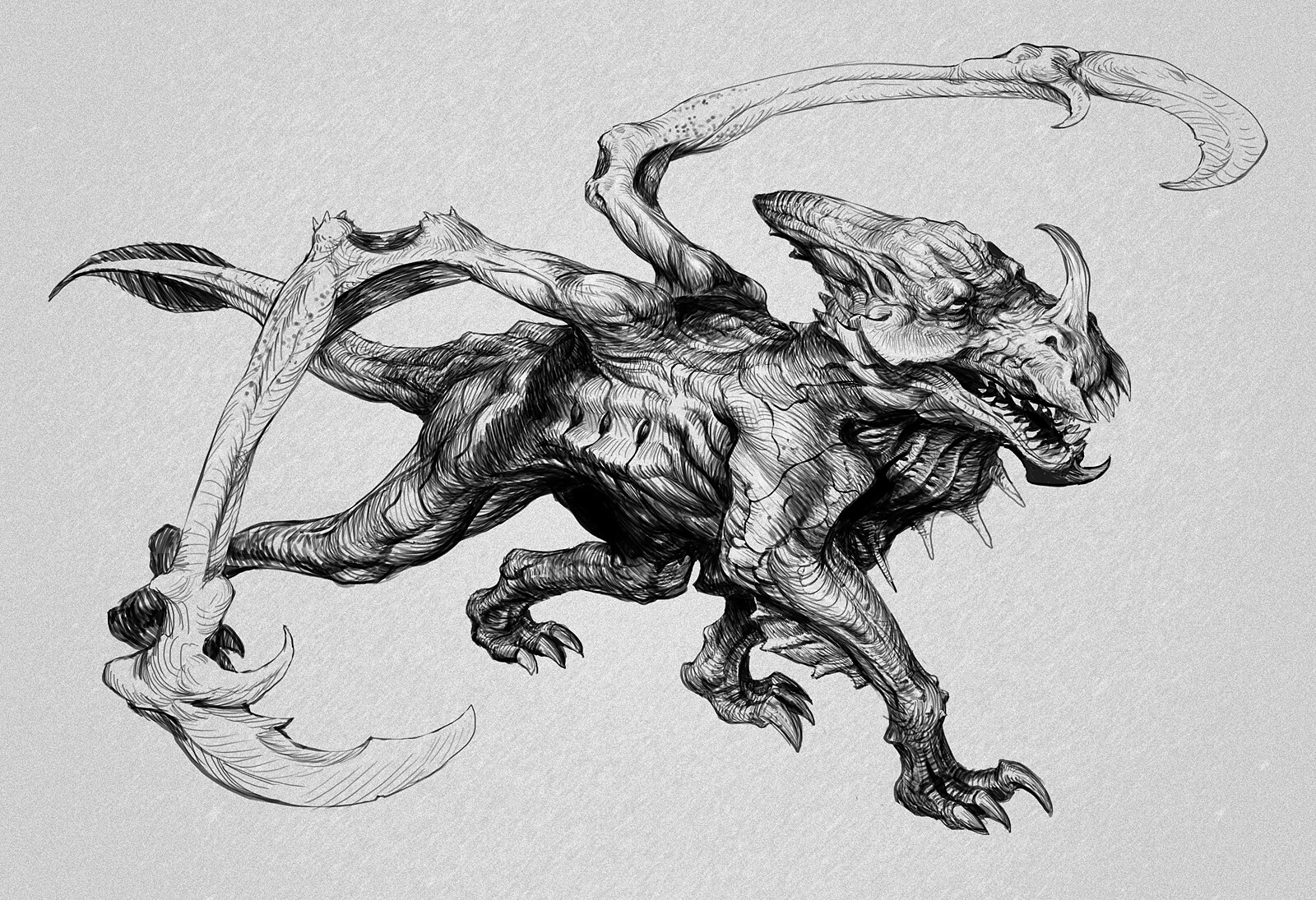 Miro petrov creature 01