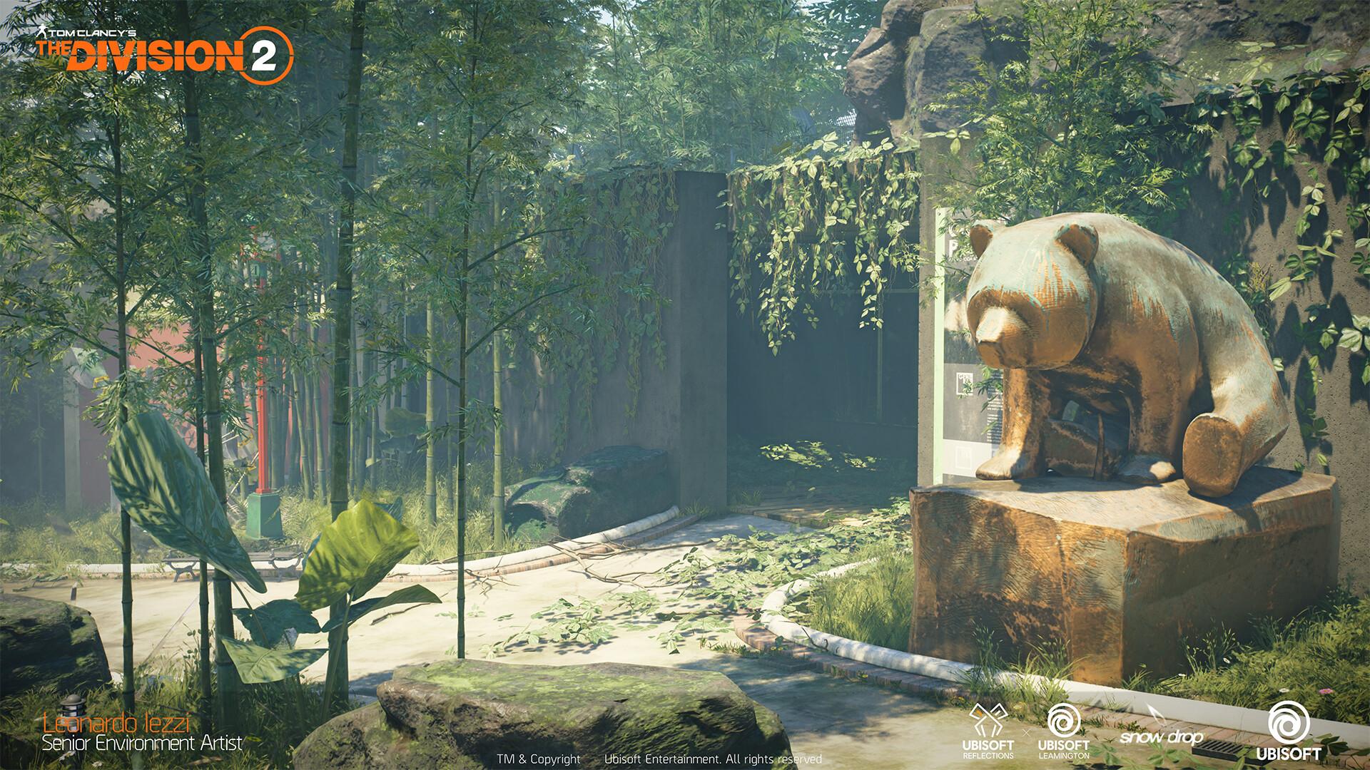 Leonardo iezzi leonardo iezzi the division 2 zoo environment art 03 japan 002