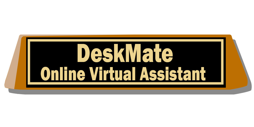 A static version of the desk nameplate icon