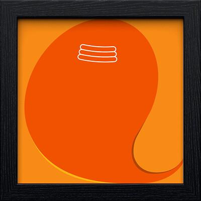 Rajesh r sawant black square frame ganpati 3