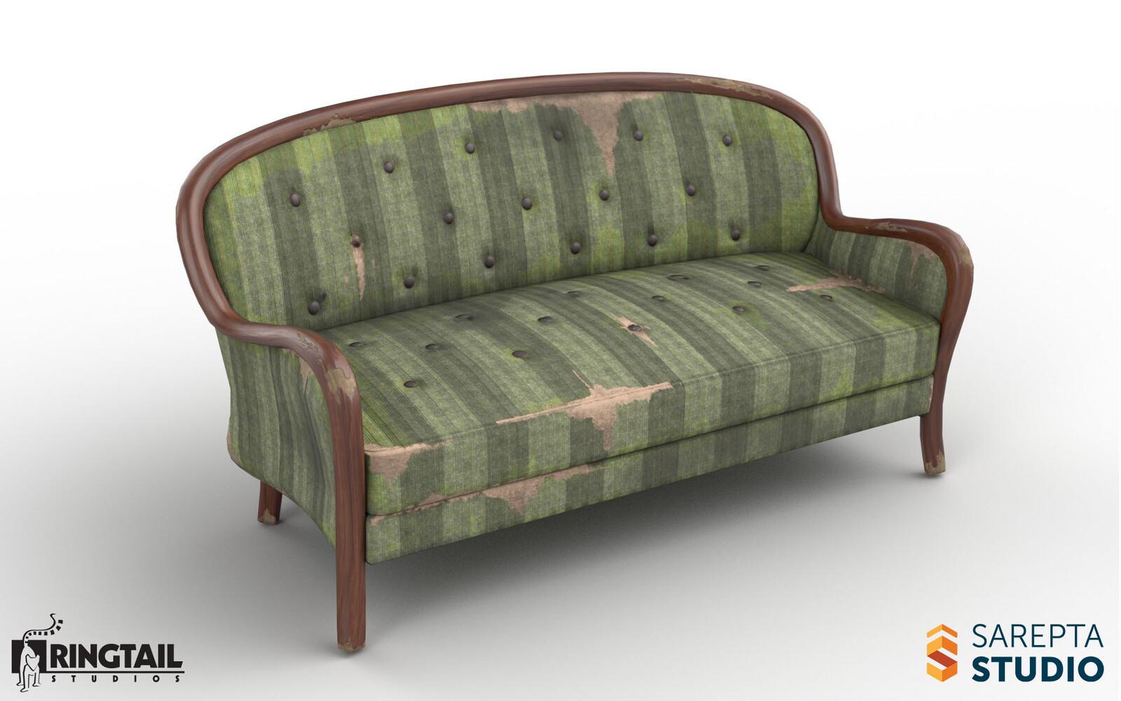 Ruined Sofa