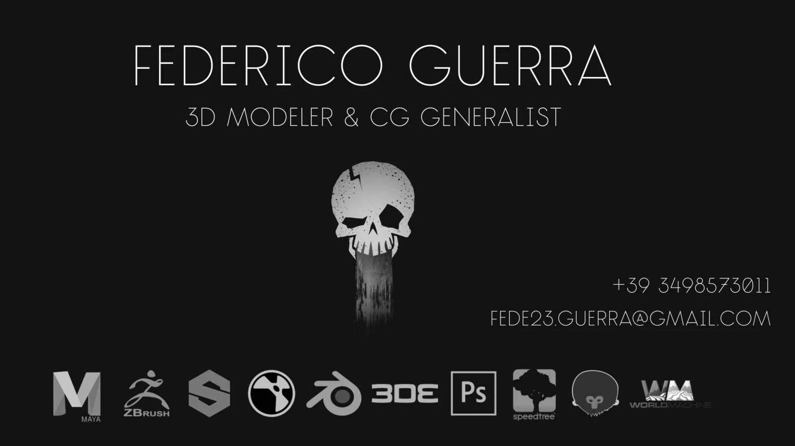 Guerra Federico ShowReel_2019