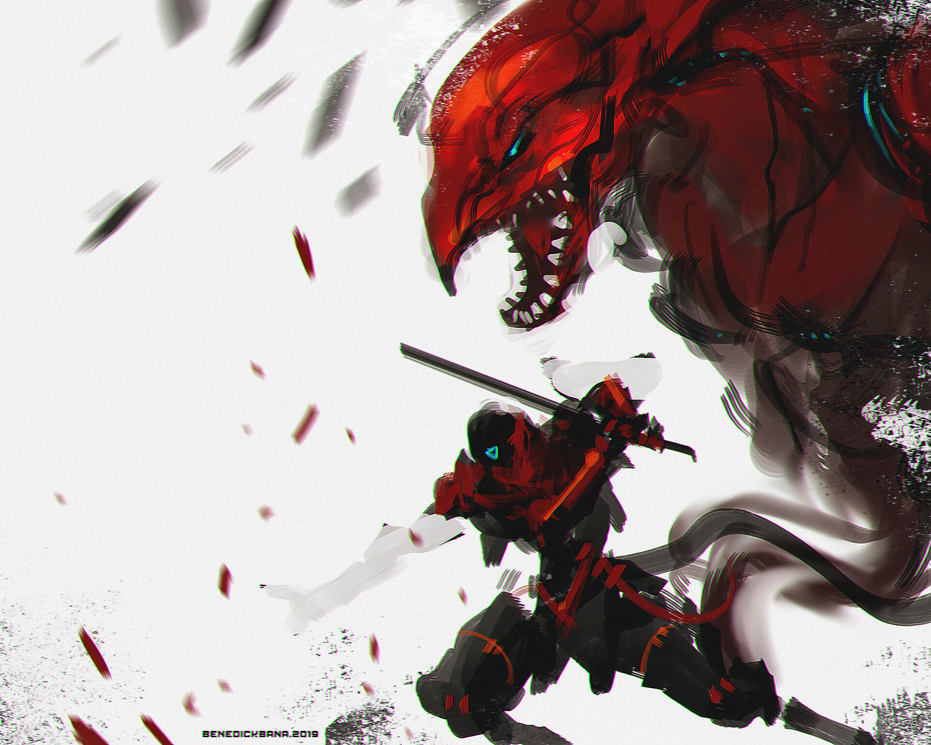 Red Flare Wyvern Summon