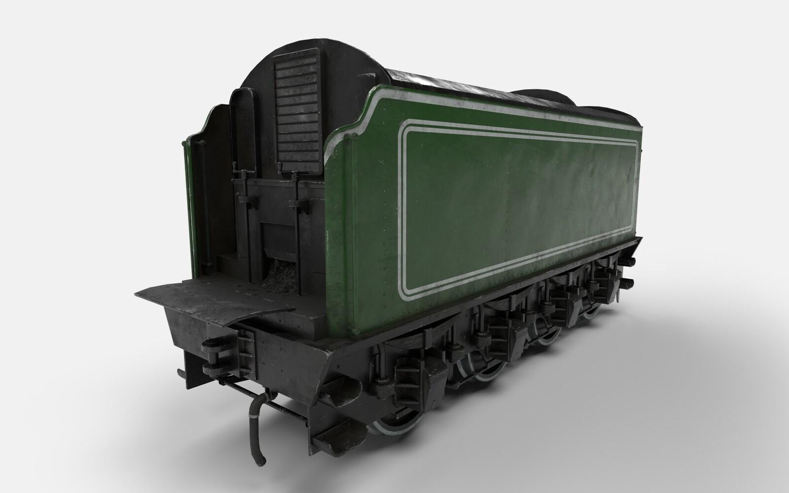 Flying Scotsman Tender (historical train)