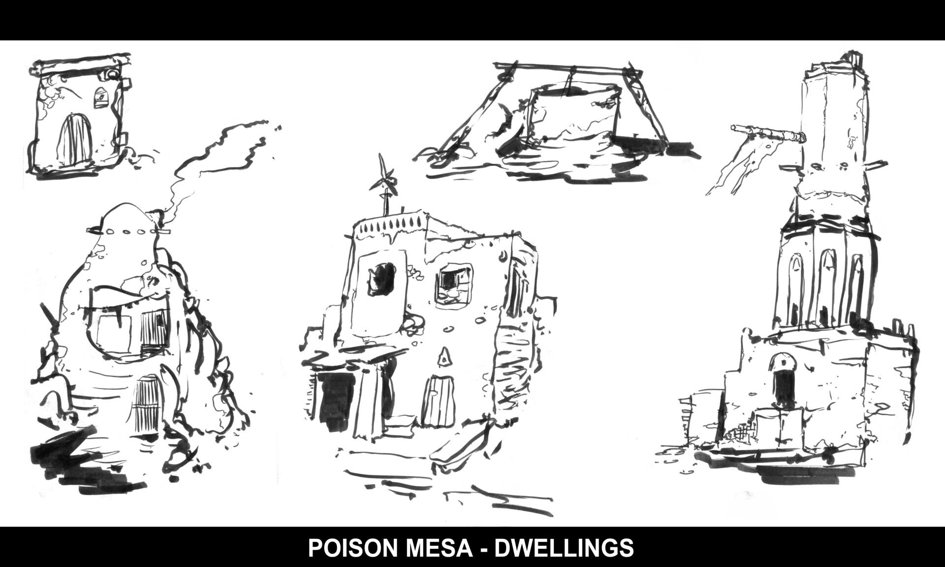 Christian herman pm dwelling sketches 01