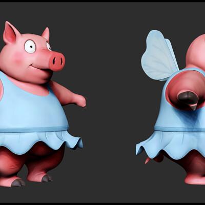 Spuke 3d pig fairy