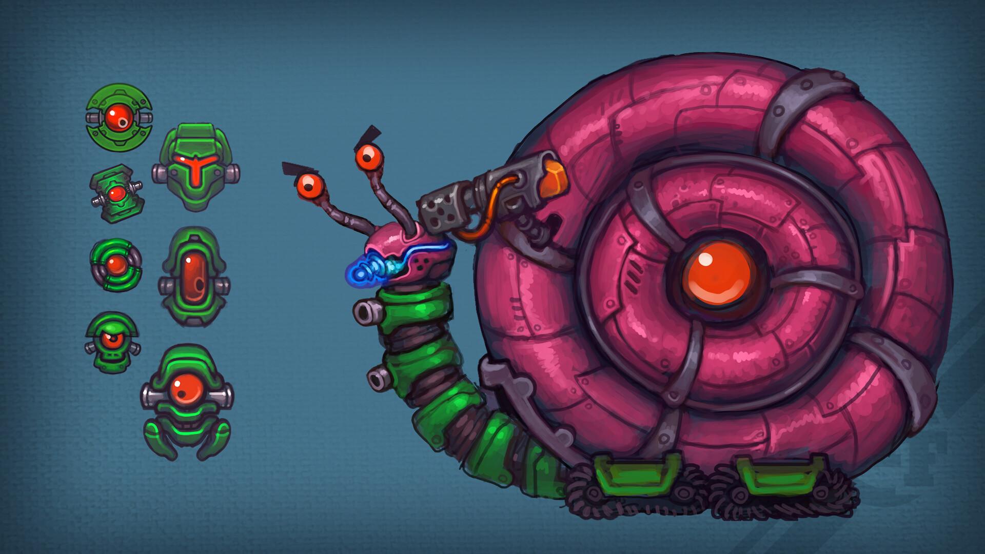 Snail Boss & Mini friends