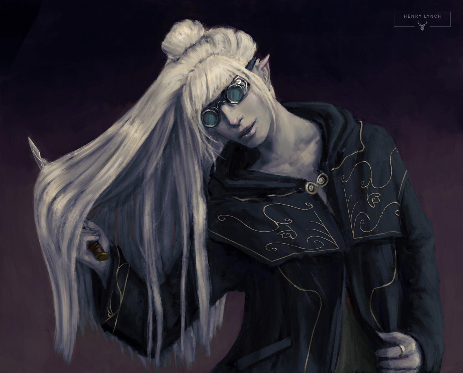 Drow Elf Rogue