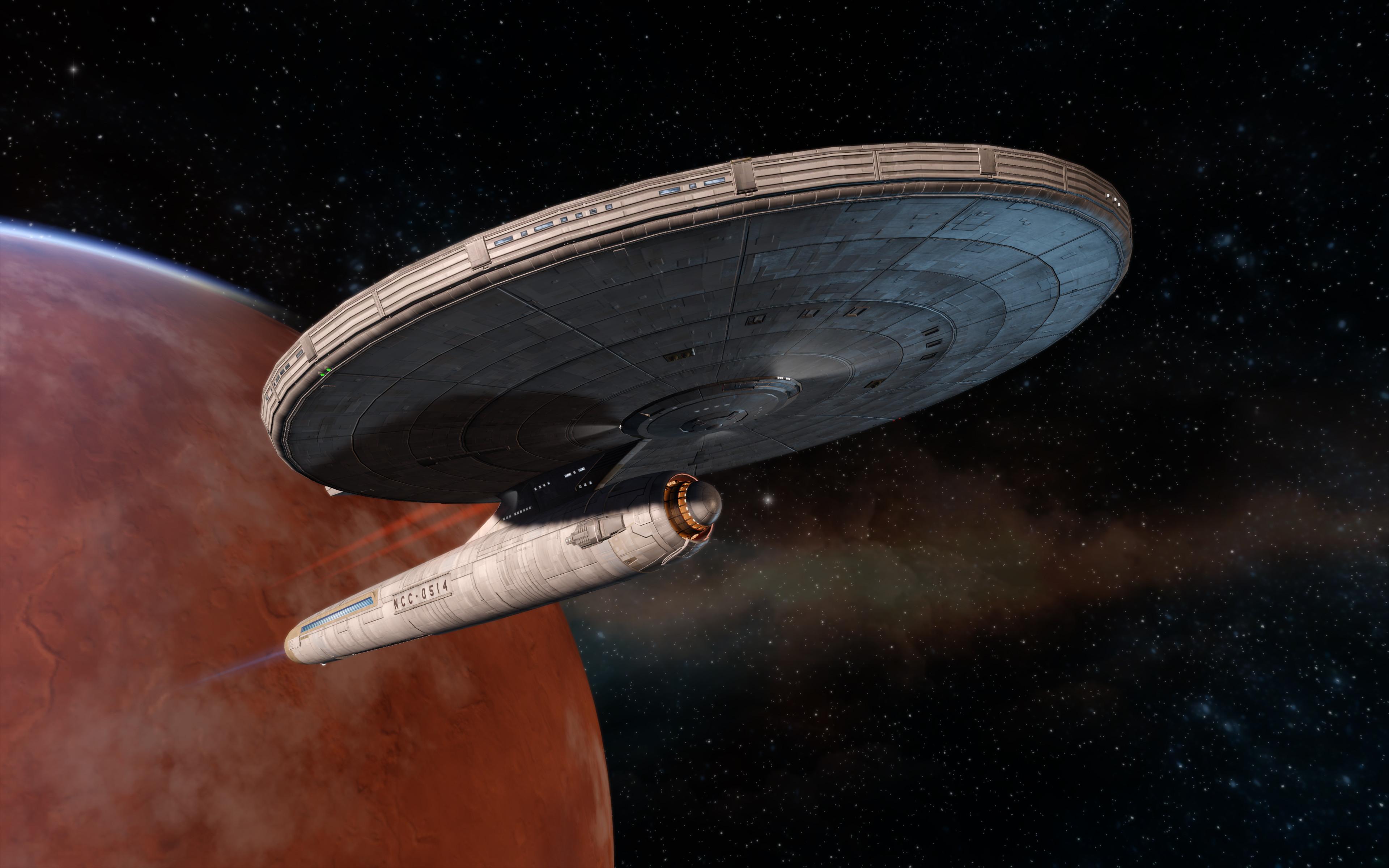 Star Trek Online in-game screenshot - Model by Tobias Richter, material by Thomas Marrone
