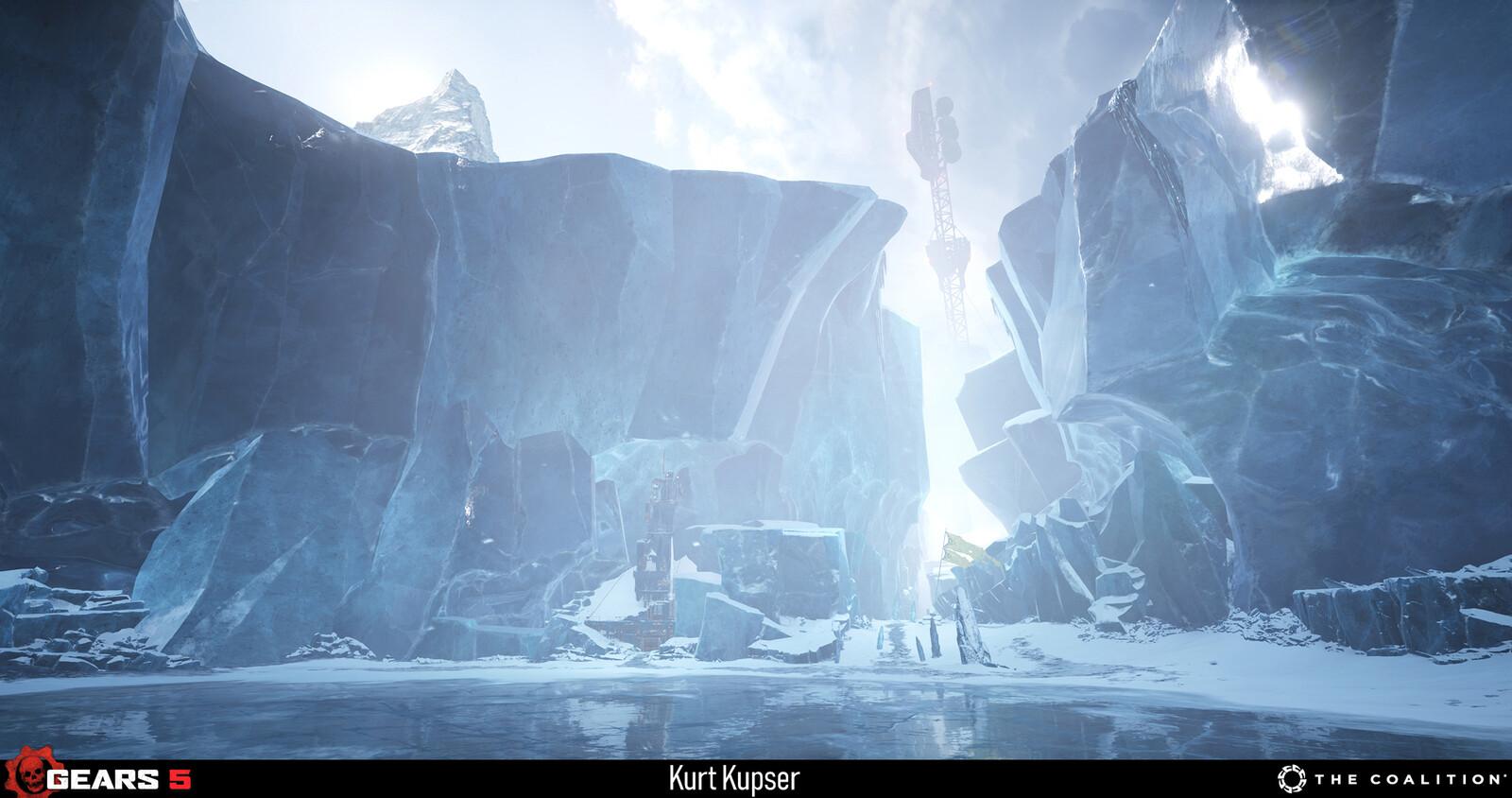 Ice Overworld Level Art - https://www.artstation.com/tuturo https://www.artstation.com/markls