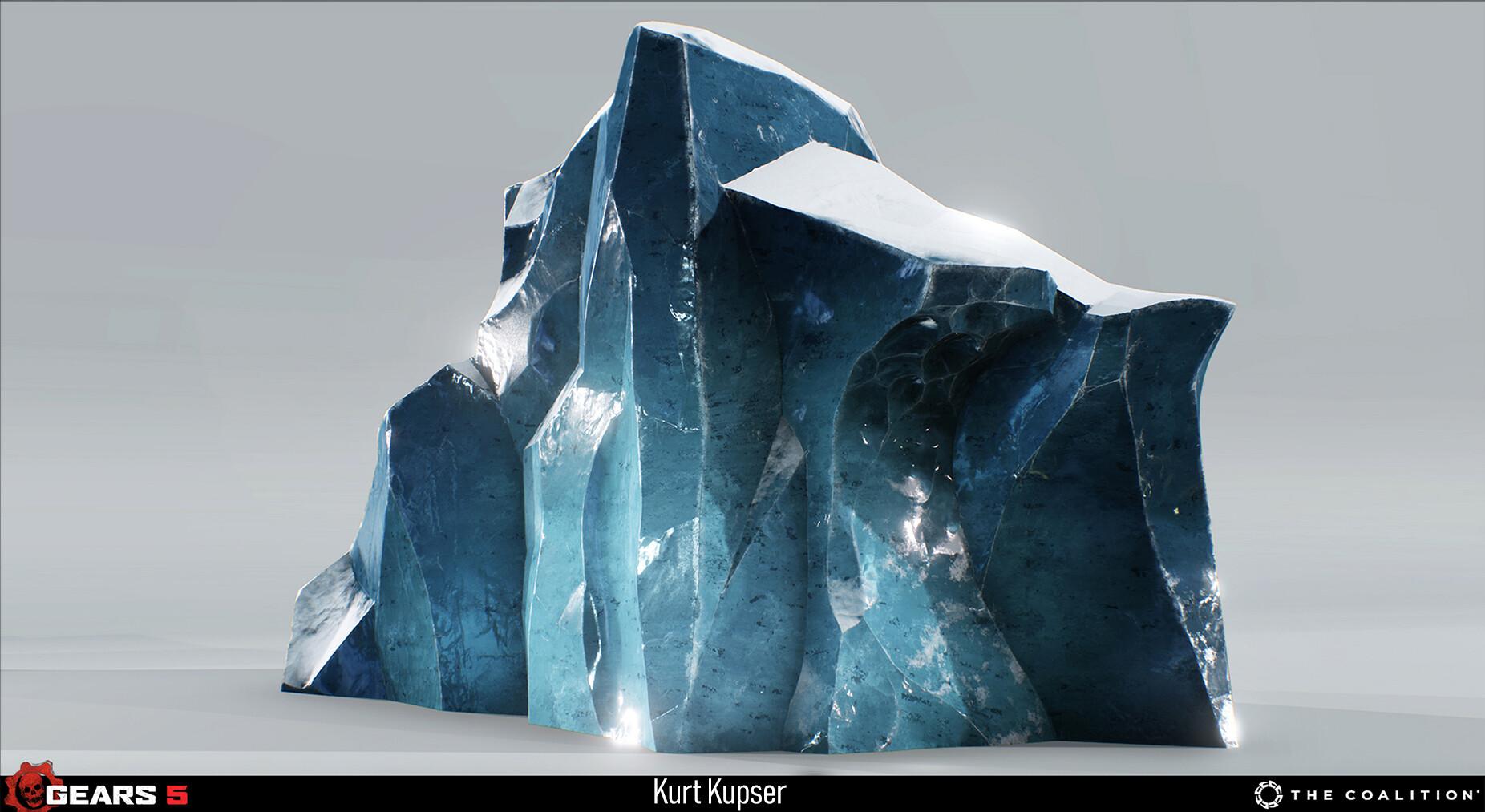 Ice Cliff asset made by Akio Kimoto https://www.artstation.com/kimoto