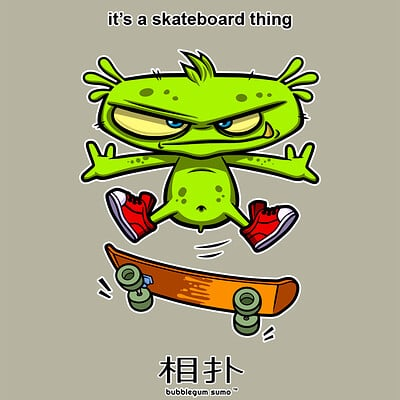 Character ark skateboard