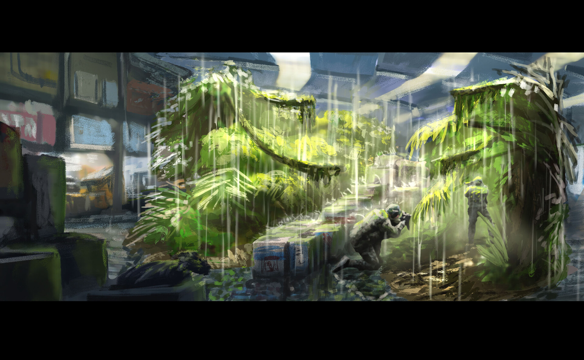Jungle in the Fishmarket // Technique / Lighting / Environment (90-120 min)