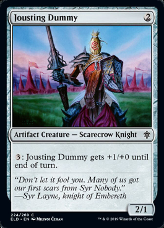 """Jousting Dummy"", Milivoj Ćeran 2018 