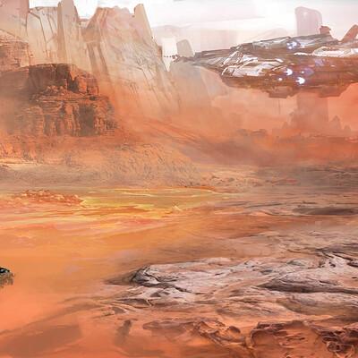 Pradal aurele colonie desert