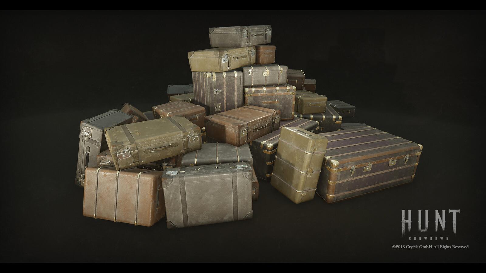 Luggage Pile