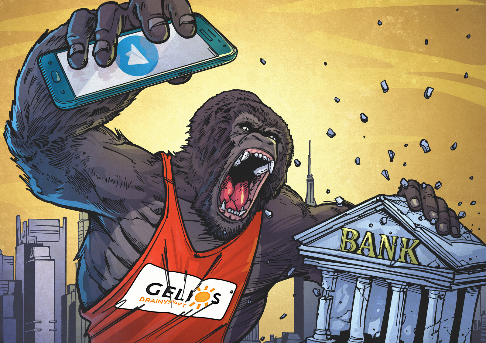 Cryptocurrency King Kong