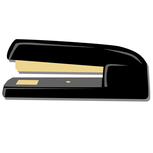 A static version of the paper stapler icon