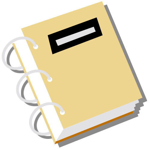 A static version of the paper binder icon