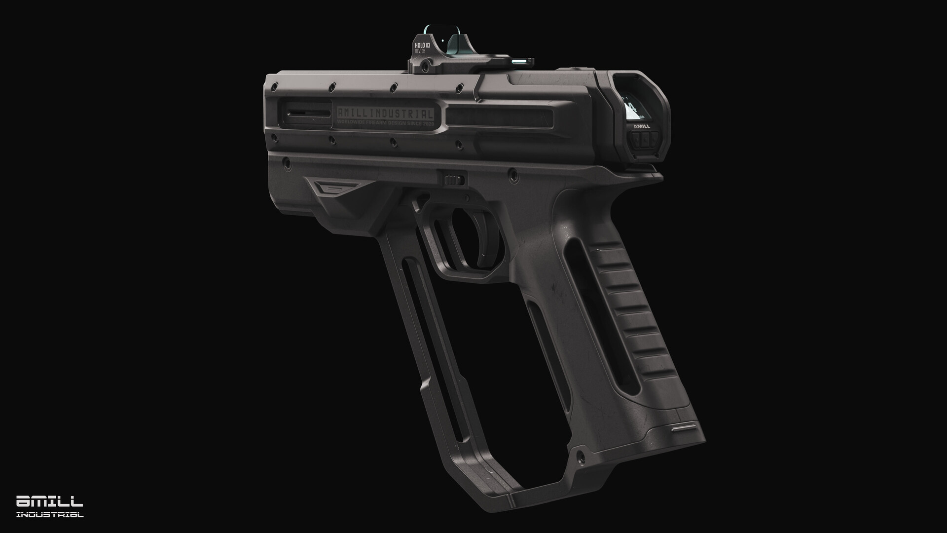Chris stone pistol rs 007