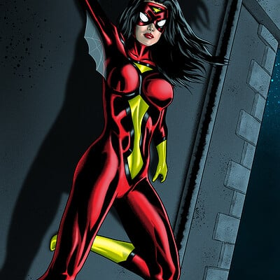 Dean bowen spider woman by dean bowen