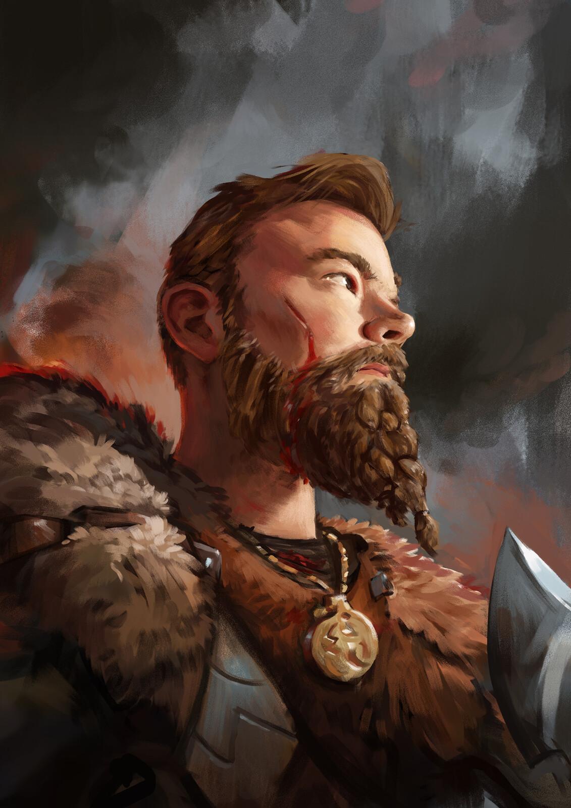 Viking selfportrait