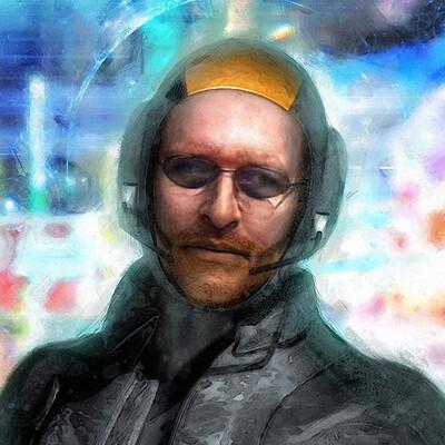 Luca oleastri cyberpunk