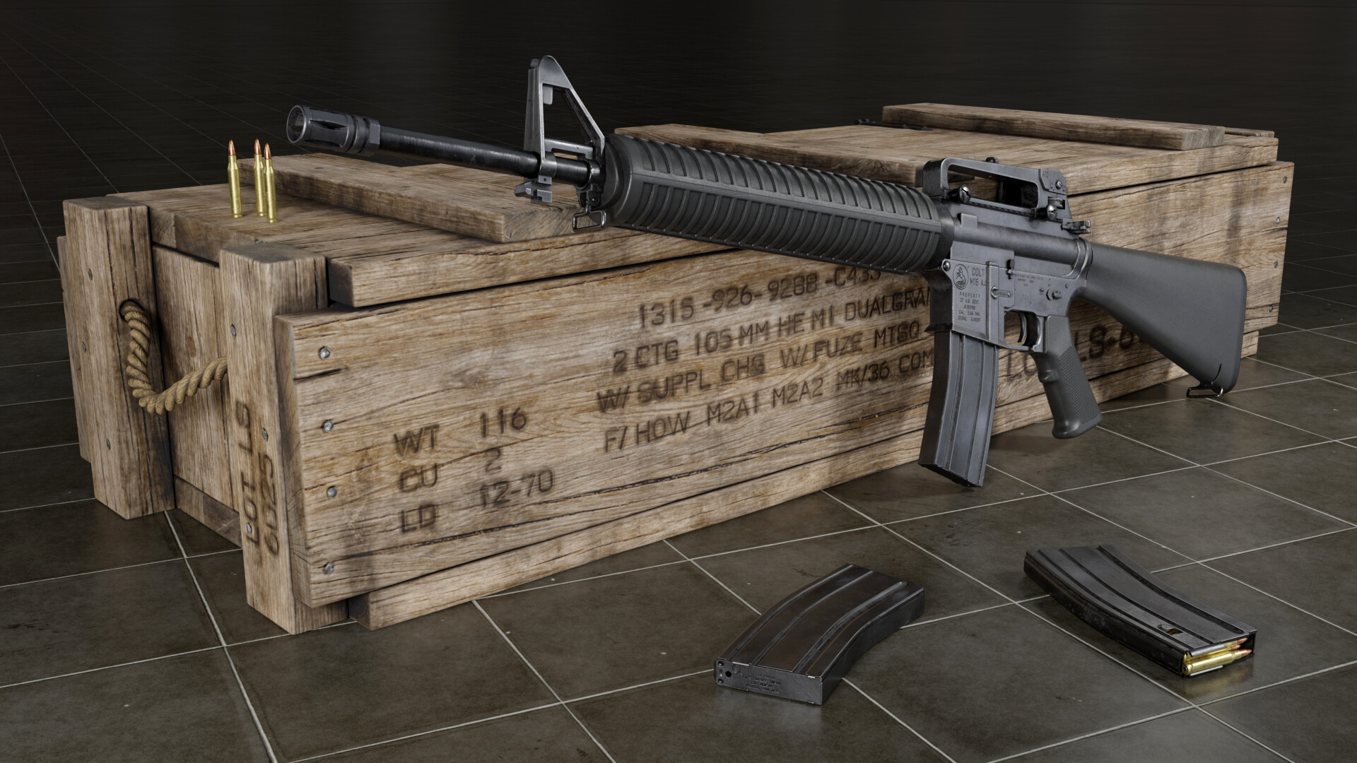 Tales of the Gun : M16 Rifle Weapon Best Military Assault Firearm