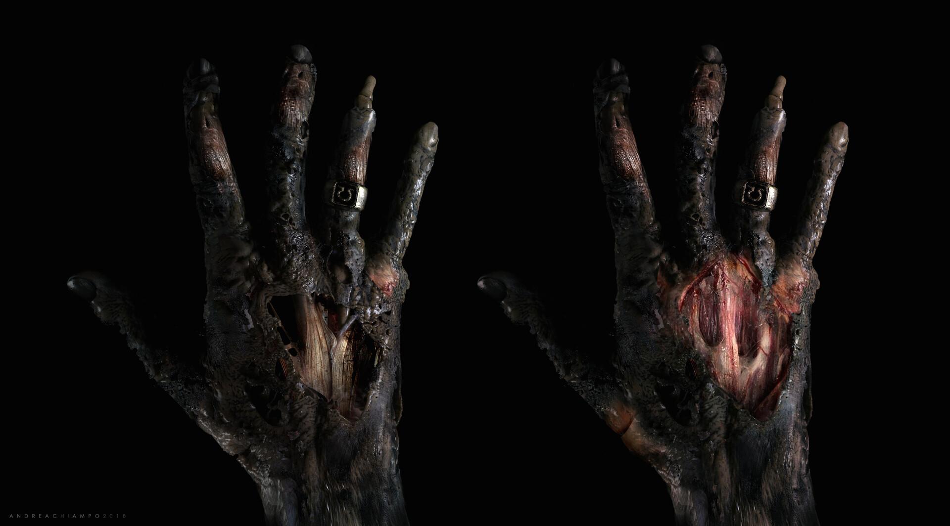 Andrea chiampo andrea chiampo mummy hand concept second 1